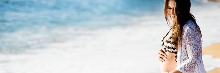 ensaio fotográfico gestante Ana Paula e Eder - Sessão fotográfica Gestante - Fotógrafo Gestante - gestante de Camboriú - fotografia de gestante na praia