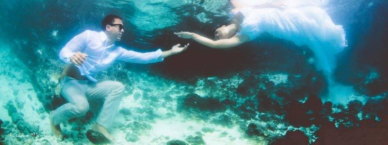 Ensaio Subaquático em Punta Cana