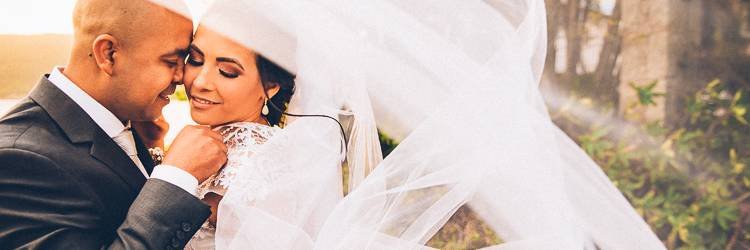 Casamento em Florianópolis de dia desse Fotógrafo de Casamento